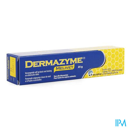 Dermazyme Melivet Zalf Tube 25 gr