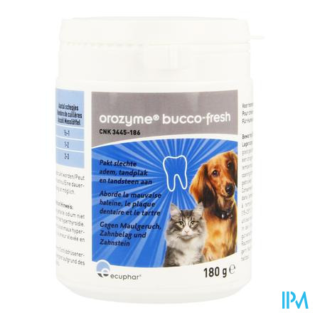 Orozyme Bucco-fresh Chien Chat 180g