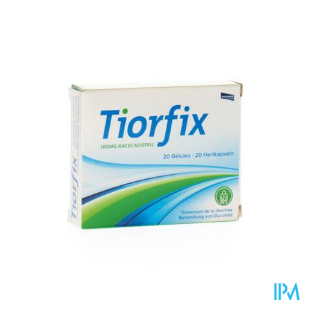 Tiorfix 100mg Adultes Caps Dur 20