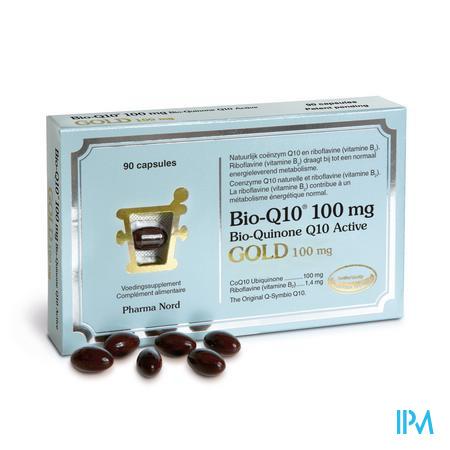 Afbeelding Bio-Q10 Gold 100 mg Bio-Quinone 90 Capsules .