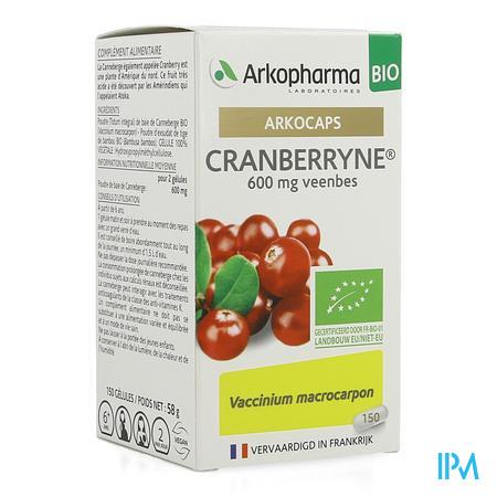 Arkocaps Cranberryne Bio Caps 150