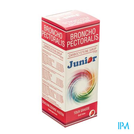 Broncho-Pectoralis Carbocisteïne Junior 20 mg/ ml Sirope 150 ml sirop