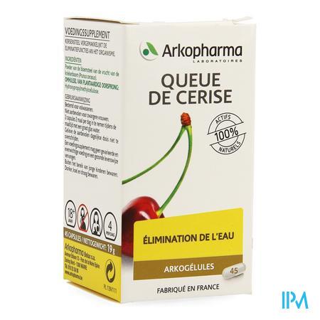 Arkogelules Queue Cerise Vegetal 45  -  Arkopharma