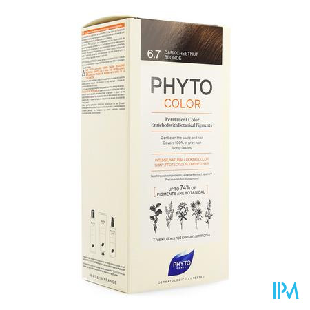 Phytocolor 6.7 Blond Fonce Marron