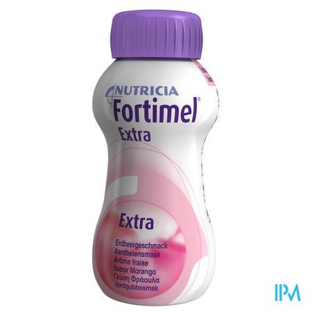 Fortimel Extra Aardbei 4x200 ml 2401487
