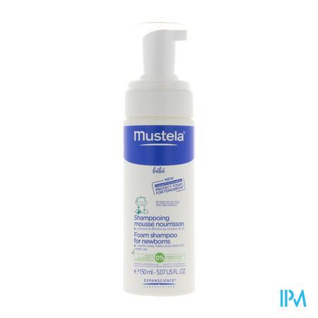Mustela Pn Shampooing Mousse Nourrisson Flacon Doseur 150 ml