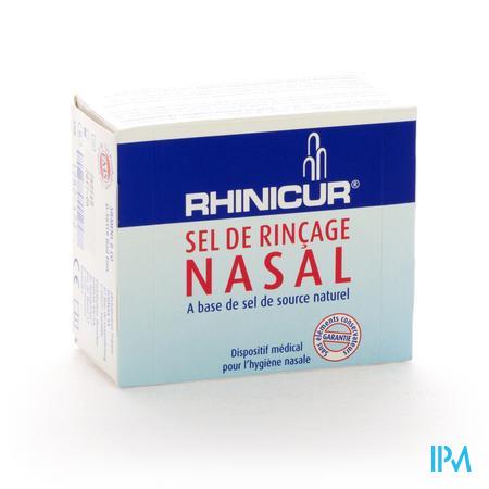 Rhinicur Sel De Rincage Nasale Sachet 20x2,5 gr