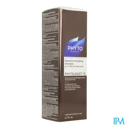 Afbeelding Phyto Phytologist 15 Intens Stimulerende Shampoo voor Alle Soorten Haaruitval 200 ml.