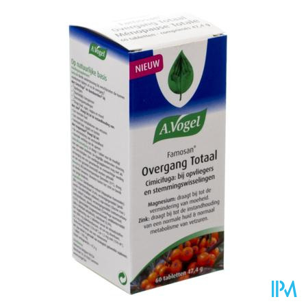 Afbeelding A. Vogel Famosan Overgang Totaal 60 Tabletten .