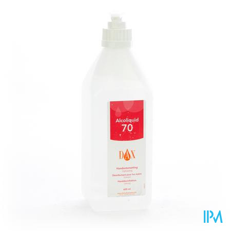 DAX ALCOLIQUID 70% + POMPJE 600ML 0405