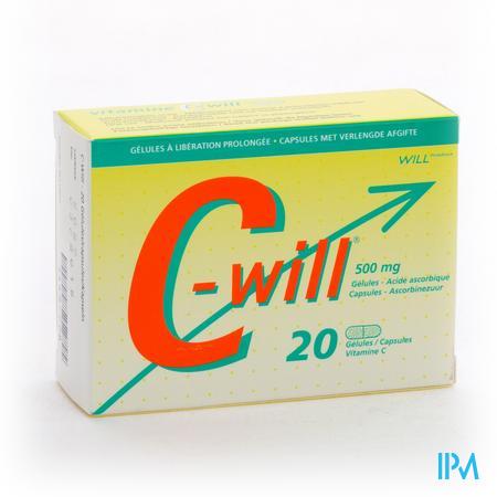 C-Will 20 capsules