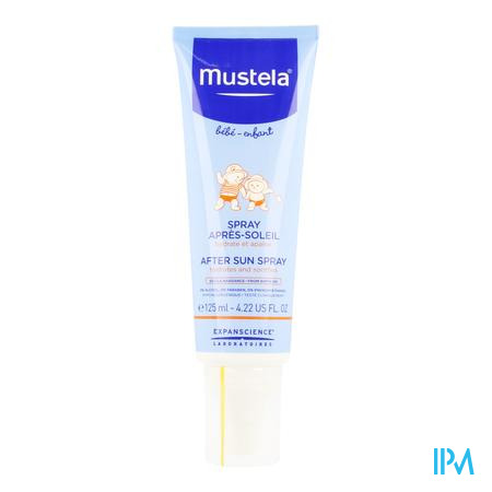 Afbeelding Mustela Baby en Kind Hydraterende en Kalmerende After Sun Spray 125 ml.