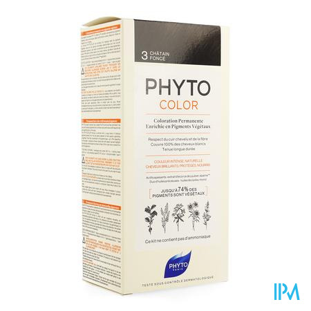 Phytocolor 3 Chatain Fonce
