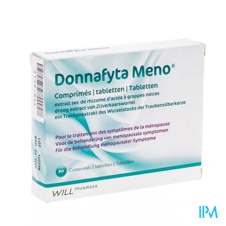 Donnafyta Meno Tabletten 90 X 6,5 mg  -  Will Pharma