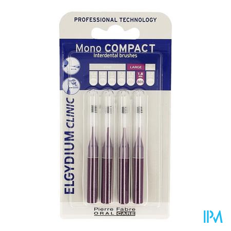 Elgydium Clinic Monocompact Purple