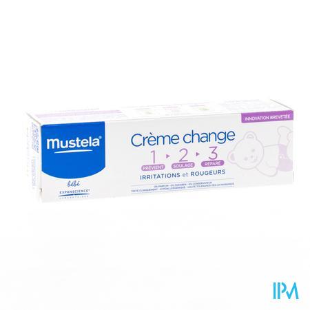 Mustela Bébé Crème Changement 1-2-3 50 g