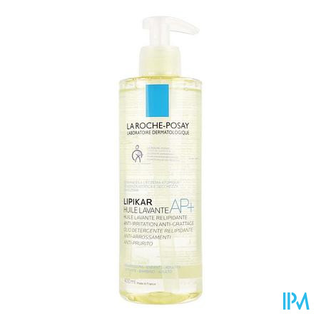 Lrp Lipikar Wasolie Ap+ 400ml