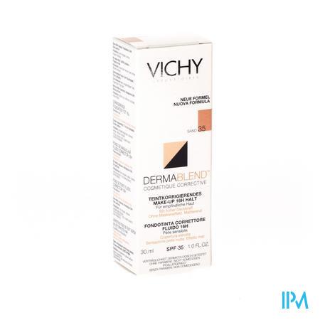 Vichy Fdt Dermablend Fluide 35 Sand 30ml