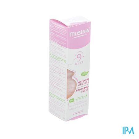 Mustela M9 Verzorgingsolie Striemen 105 ml