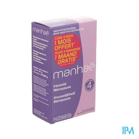 Farmawebshop - MANHAE 3 MAAND + 1 GRATIS COMP 2X60 PROMO