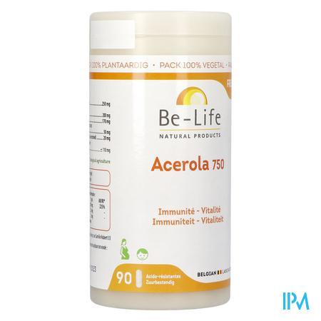 Acerola 750 Vitamines Be Life Nf Gel 90