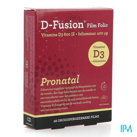 D-fusion Film Folic Film Orodisp 28