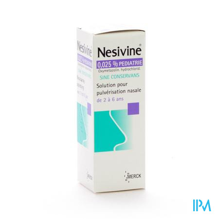Nesivine Enfant Sine Conservans 10 ml spray