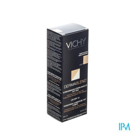 Vichy Dermablend Corrigerende Fond De Teint Lichaam Lichte Huid 100 ml