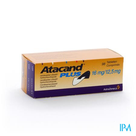 Atacand Plus Comp S/bl 98x16/12,5mg