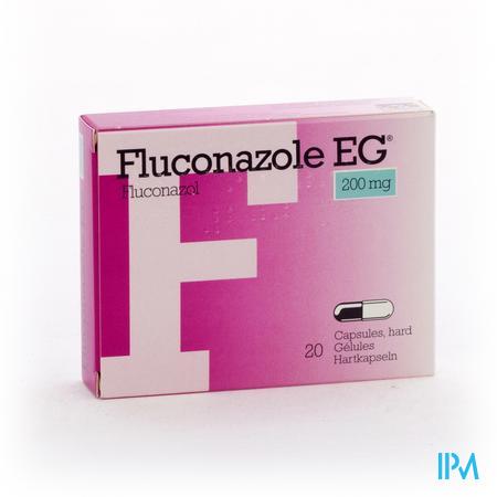 Fluconazol Eg 200mg Caps 20