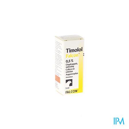 Timolol Falcon 0,50% Oogdruppel 5ml