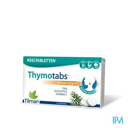 Thymo Tabletten Sinaas Zuigtabl 24