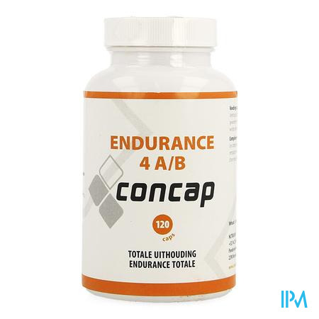 Concap Endurance 4 Ab Caps 120
