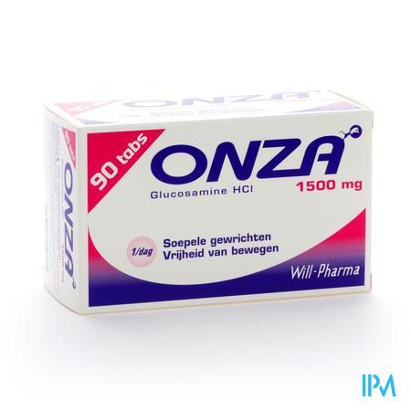 Onza 1500mg Soepele Gewrichten 90 tabletten
