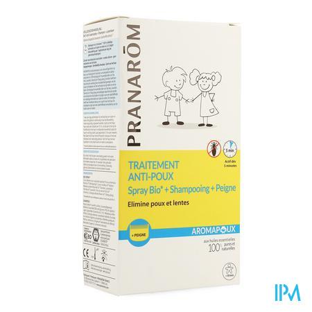 Aromapoux Bio Spray A/luis 30ml +shamp.125ml + Kam