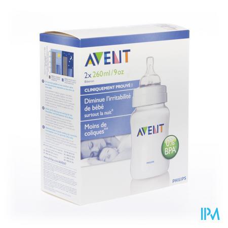 Avent Biberon Sans BPA Duo 260ml 2 pièces