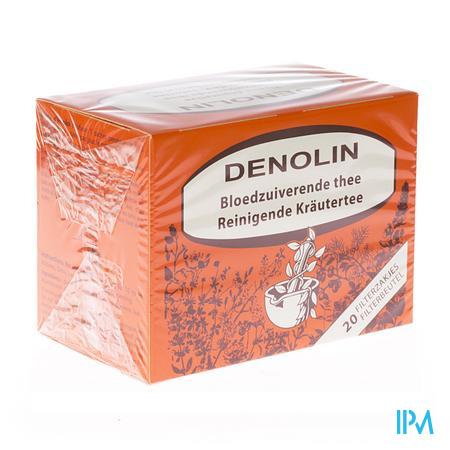 Afbeelding Denolin Bloedzuiverende Thee 20 Zakjes.