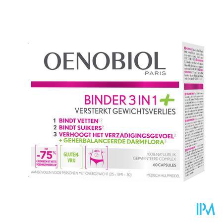 OENOBIOL BINDER 3IN1+ 60 CAPS