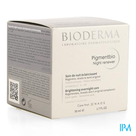 Bioderma Pigmentbio Night Renewer Pot 50ml