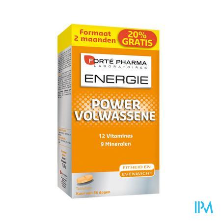 Forté Pharma Energie Power Adulte 60 tabletten