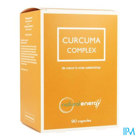 Curcuma Complex Natural Energy Caps 90