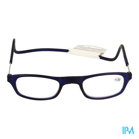 Clipyreader Bril +1.50 Blauw
