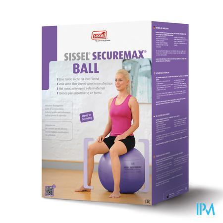 Sissel Bal Securemax Zitbal Paars 55cm 1 stuk
