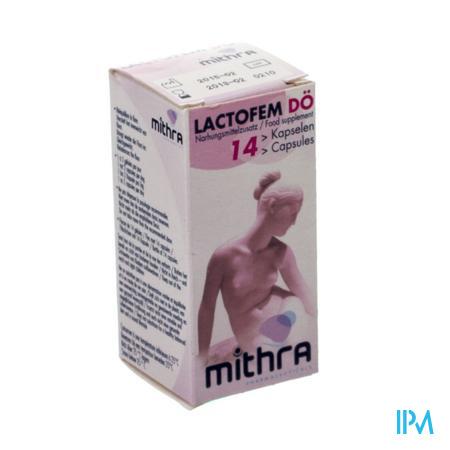 Mithra Lactofem Do 14 capsules