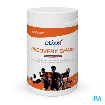 Afbeelding Etixx Recovery Shake Chocoladesmaak 1,5 kg.