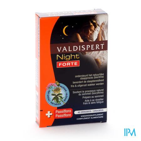 VALDISPERT NIGHT FORTE BLISTER TABL 40