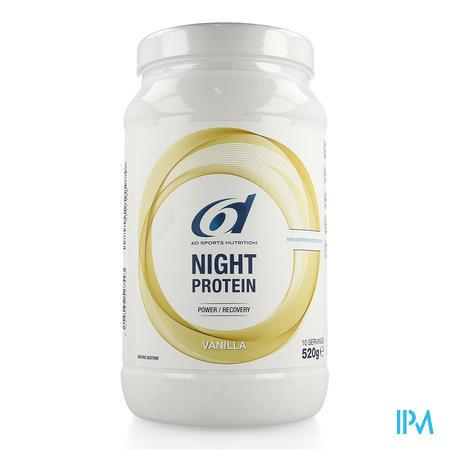 6d Night Protein Vanilla 520g