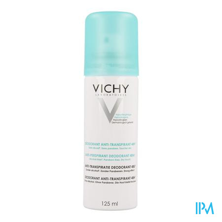 Afbeelding Vichy Deodorant Spray Anti-Transpiratie 48 uur 125 ml.