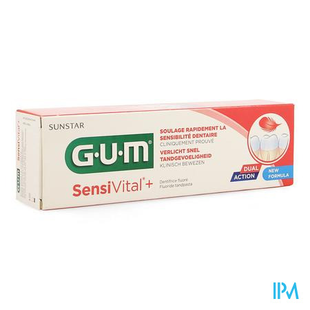 Gum Sensivital + Dentifrice 75 ml