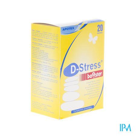 Apotex D-Stress Booster Poeder 20 zakjes
